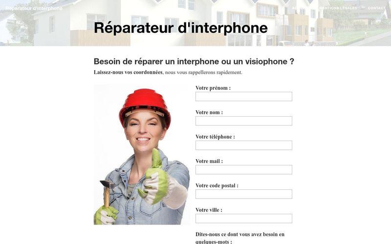 Un professionnel pour remplacer votre interphone